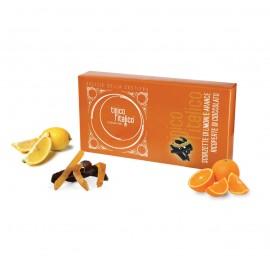 Scorzette di limone e arancia al cioccolato